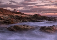 Class A First Place, Beavertail at Sunset by Frank Mullins
