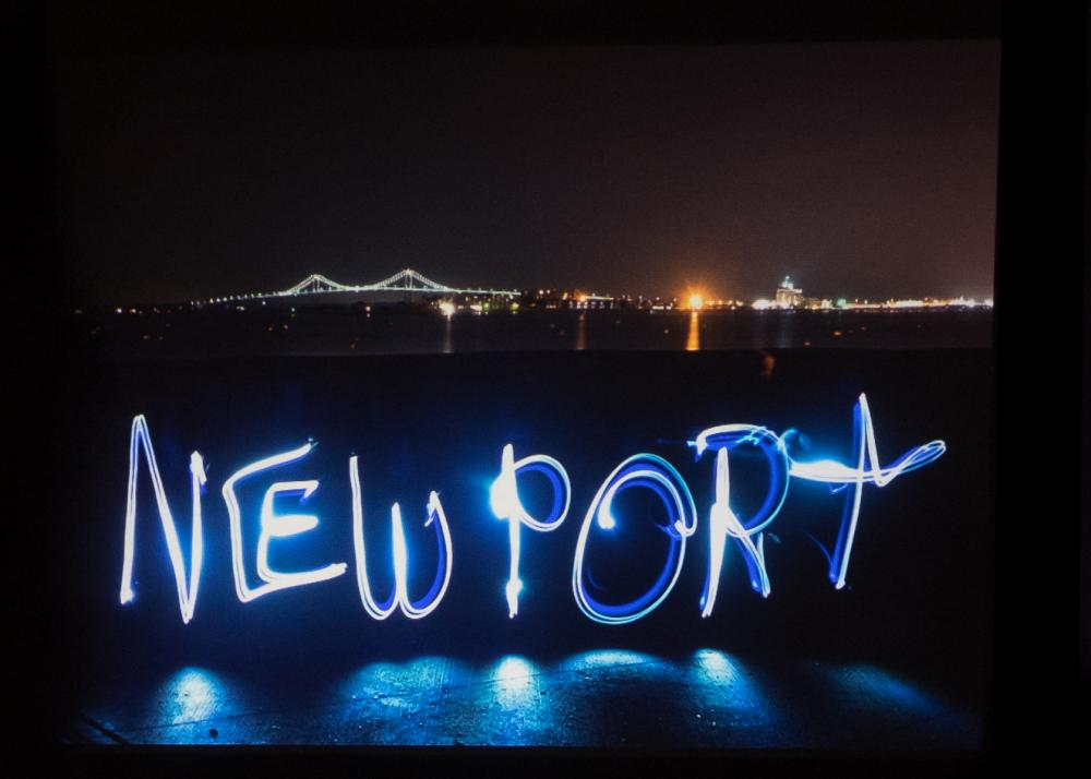 Light painting by Diane Neves
