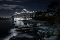 2nd-A-Moonlight_Over_Pell_Bridge-Kevin_Bernard