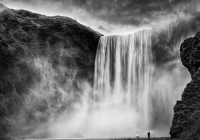 1st Place Color Print - Skogarfoss - Marion Faria