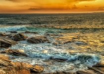 3rd Place A~Beavertail Sunset~Dennis Ryan