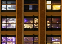 2nd_B_Night Windows in Boston_Jean Leslie