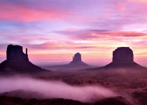 22~3rd~AA~Foggy Dawn Monument Valley 3~Janson Dena