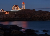 1st~B~Nubble Light at Christmas~Berthiaume Noreen