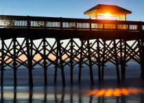2nd~AA~Dawn Folly Beach Pier~Janson Dena