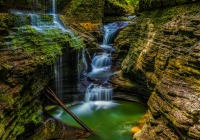 1st_Rainbow Falls Watkins Glen_Tara_Marshall_Color Print A