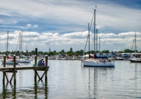 1st-A Fishing_In_The_Harbor-by-Bud-MIller