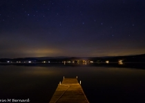 Dock with big dipper by Kevin