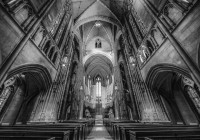 2nd_Heinz Memorial Chapel_Noreen  Berthiaume_B&W Print