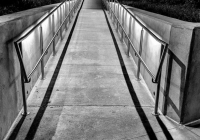 3rd_28-pts_BW-Print_Moonrise-Over-Walkway_Noreen-Berthiaume