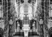 3rd_Heinz Chapel_Noreen  Berthiaume_B&W Print