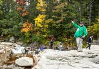 Mark at Lower Falls - Leslie