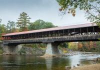 Saco River Covered Bridge - Leslie