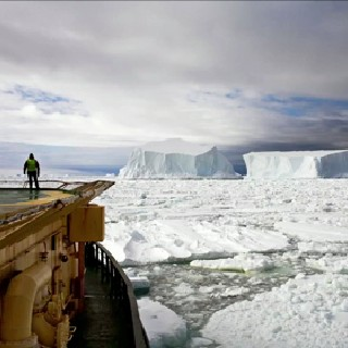 Rolling Iceberg