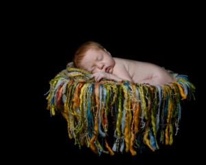 Sleeping Baby by Christina Richardson