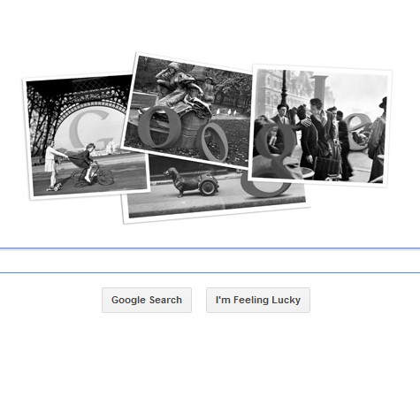 Robert Doisneau on Google