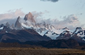 This is Fitz Roy right out of camera