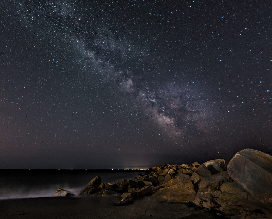 Milky Way over Charlestown